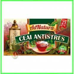 Ceai Antistres 20 plicuri - Ad Natura - www.naturasanat.ro