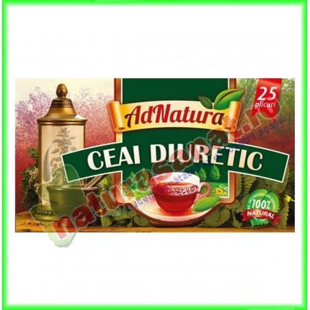 Ceai Diuretic 20 plicuri - Ad Natura - www.naturasanat.ro