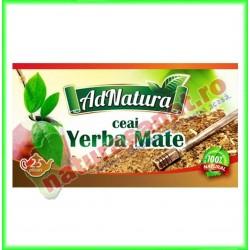 Ceai Yerba Mate 25 plicuri - Ad Natura