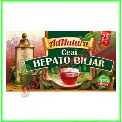 Ceai Hepato-Biliar 20 plicuri - Ad Natura - www.naturasanat.ro