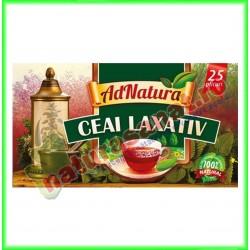 Ceai Laxativ 20 plicuri - Ad Natura - www.naturasanat.ro