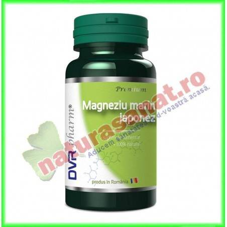 Magneziu Marin Japonez 60 capsule - DVR Pharm - www.naturasanat.ro
