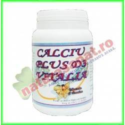Calciu Plus D3 40 comprimate -...