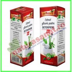 Pentru Detoxifiere Extract Gliceric 50 ml - Ad Natura - Adserv