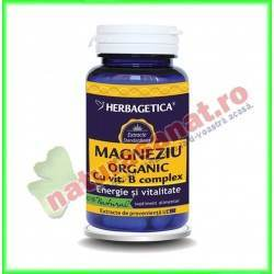 Magneziu Organic 30 capsule -...