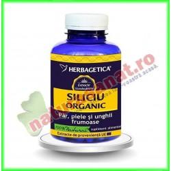 Siliciu organic 120 capsule...