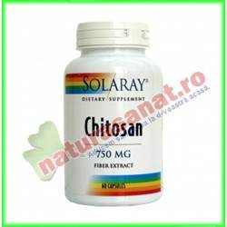 Chitosan 60 capsule - Solaray - Secom