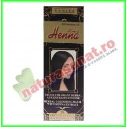 Henna Balsam Colorare Nr.19 Ciocolata Neagra 75 ml - Henna Sonia