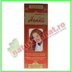 Henna Balsam Colorare Nr.3 Portocaliu Intens 75 ml - Henna Sonia