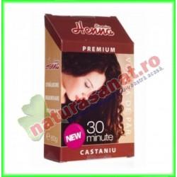 Henna Premium Castaniu 60 g...