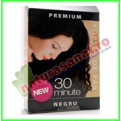 Henna Premium Negru 60 g - Henna Sonia
