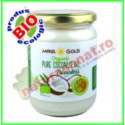 Ulei de Cocos Fara Miros Ecologic BIO 450 g ( 565 ml )  - Maya Gold