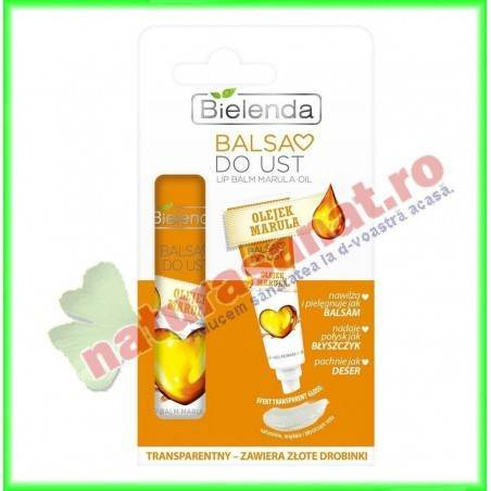 Balsam de buze cu ulei de Marula FRUITY LINE 10 g - Bielenda