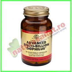 Advanced Multibillion Dophilus 60 capsule vegetale - Solgar