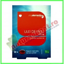 Krill Oil Omega 3 500 mg 30...