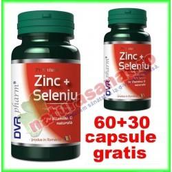Zinc + Seleniu cu Vitamina...