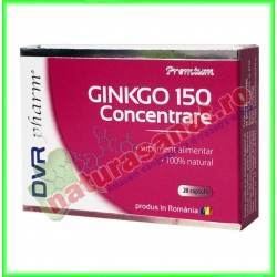 Ginkgo 150 Concentrare 20 capsule - DVR Pharm