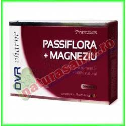Passiflora cu Magneziu 20 capsule blisterizate - DVR Pharm