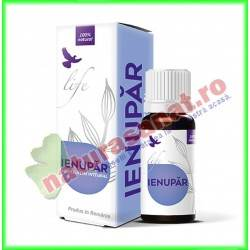 Ienupar (Juniperus communis) Ulei Volatil Esential Integral 10 ml - Bionovativ