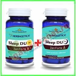 Sleep Duo AM/PM Zen Forte 120+120 capsule - Herbagetica