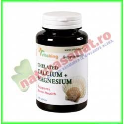 Calciu Magneziu 500mg-250mg 100 Comprimate - Vita King