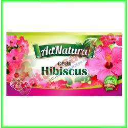 Ceai Hibiscus Flori 25...