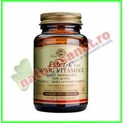 Ester-C 500 mg (Vitamina C non-acida) 50 capsule - Solgar