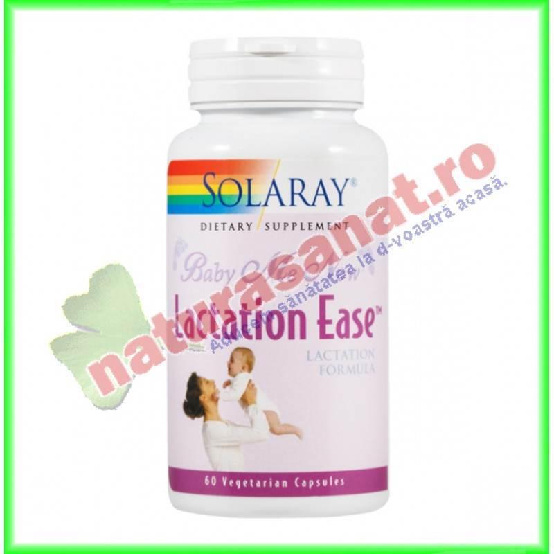 Lactation Ease 60 capsule vegetale - Solaray - Secom