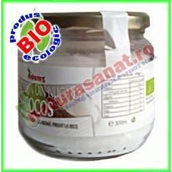 Ulei de Cocos Virgin Ecologic 300ml (presat la rece) - Adams Vision