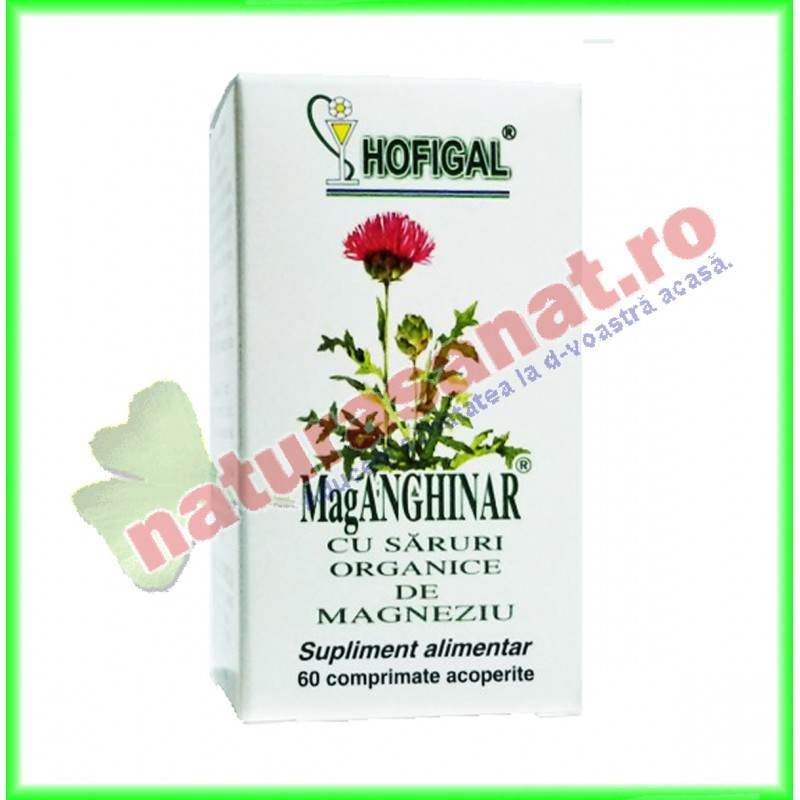 Mag Anghinar 60 comprimate (fost Anghirol) - Hofigal