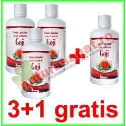 Goji Suc 946 ml PROMOTIE 3+1 GRATIS - Adams Vision