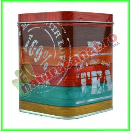 """Cutie metalica patrata """"Have a tea"""" 250 g Sinas - Niavis"""