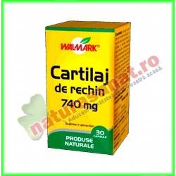 Cartilaj de rechin 740mg 30...