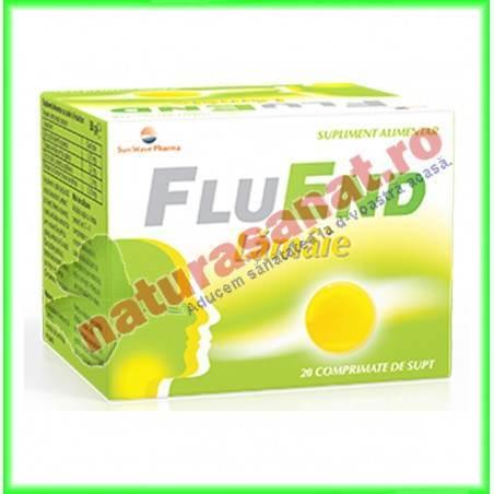 Flu End Lamaie 20 comprimate de supt - Sunwave Pharma