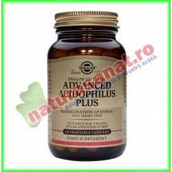 Advanced Acidophilus Plus 60 capsule vegetale - Solgar