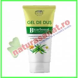 Gel de Dus cu Bicarbonat, Aloe, Galbenele si Musestel 200 ml - Ceta