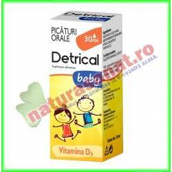 Detrical Baby Vitamina D 30 ml - Zdrovit