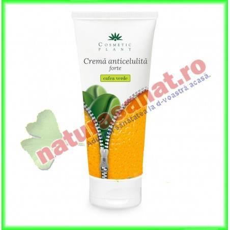 Crema Anticelulita cu Extract de Cafea Verde FORTE 200 ml - Cosmetic Plant