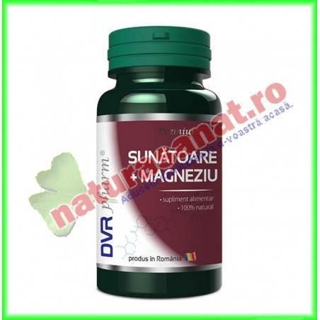 Sunatoare + Magneziu 60 capsule - DVR Pharm
