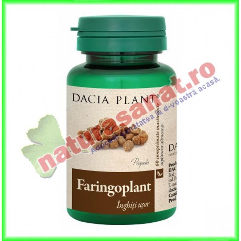 Faringoplant 60 comprimate - Dacia Plant