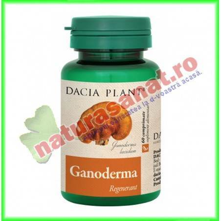 Ganoderma 60 comprimate - Dacia Plant