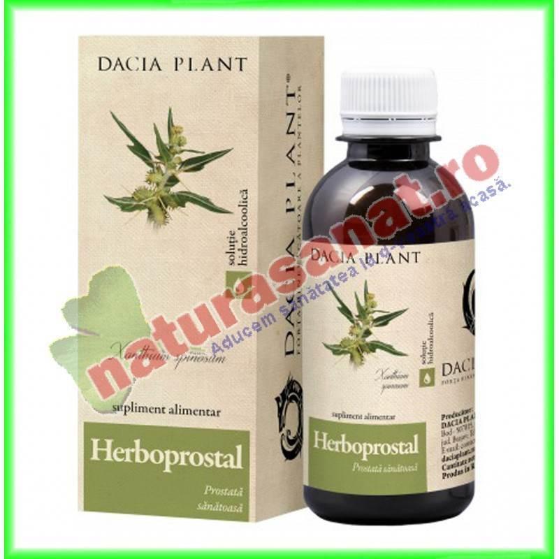 Herboprostal Tinctura (fost Xantoprostal) 200 ml - Dacia Plant