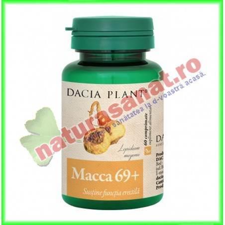 Macca 69+ 60 comprimate - Dacia Plant