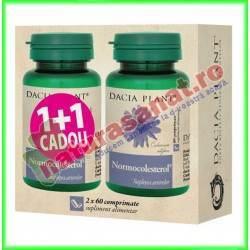 Normocolesterol 60 comprimate PROMOTIE 1+1 GRATIS - Dacia Plant