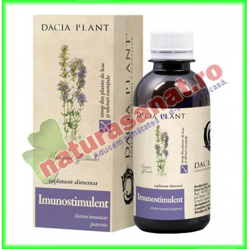 Sirop Imunostimulent 200 ml Gama Ingerasul - Dacia Plant