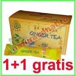 Ceai Ghimbir Extract (Ginger Tea) 15 doze PROMOTIE 1+1 GRATIS - Sanye