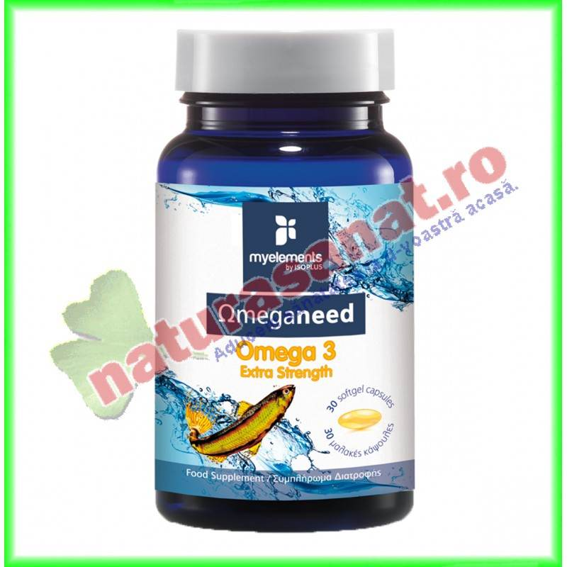 Cod Liver Oil 60 capsule Omeganeed - MyElements