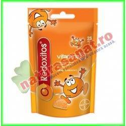 Redoxitos Vitamina C cu aroma de portocala 25 jeleuri - Bayer