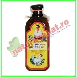 Sampon Regenerant pentru Par Normal cu Extract de Ou 350 ml - Bunica Agafia