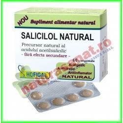 Salicilol Natural 60 tablete -...